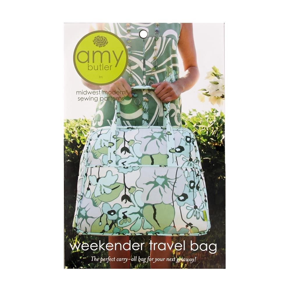 Amy Butler Pattern Weekender Travel Bag