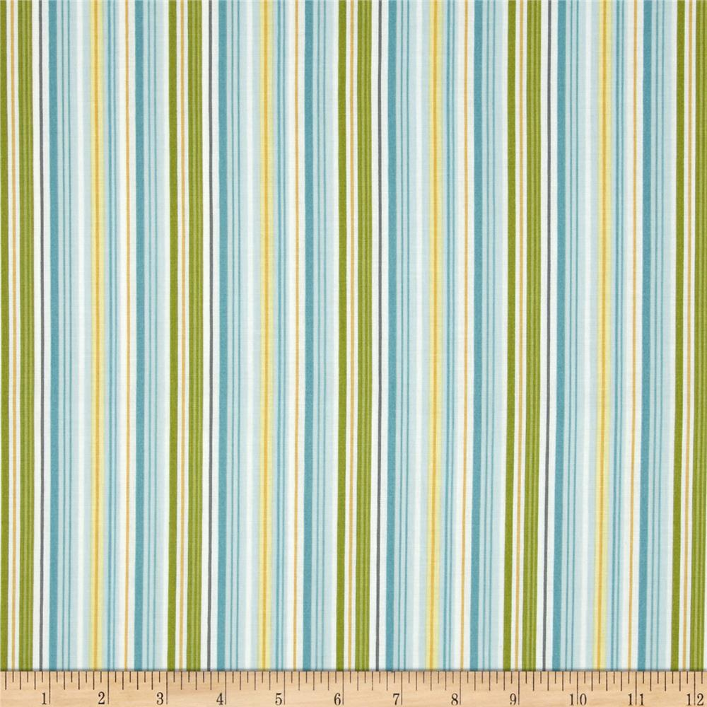 Riley Blake Fine & Dandy Stripe Blue