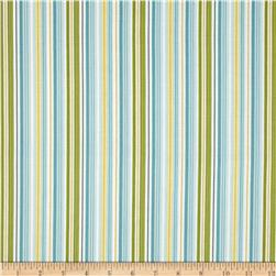 Riley Blake Fine & Dandy Stripe Blue Fabric