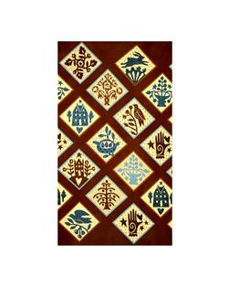 Moda Piecemakers Patches Chocolate