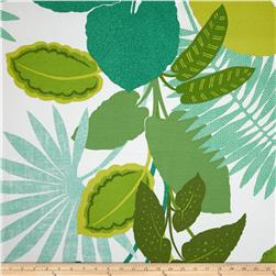 P Kaufmann Indoor/Outdoor Costa Rica Jungle Green Fabric