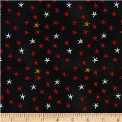 Cheeky Wee Pumpkins Stars Black
