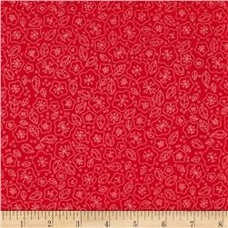 Lovebirds Flora Line Red