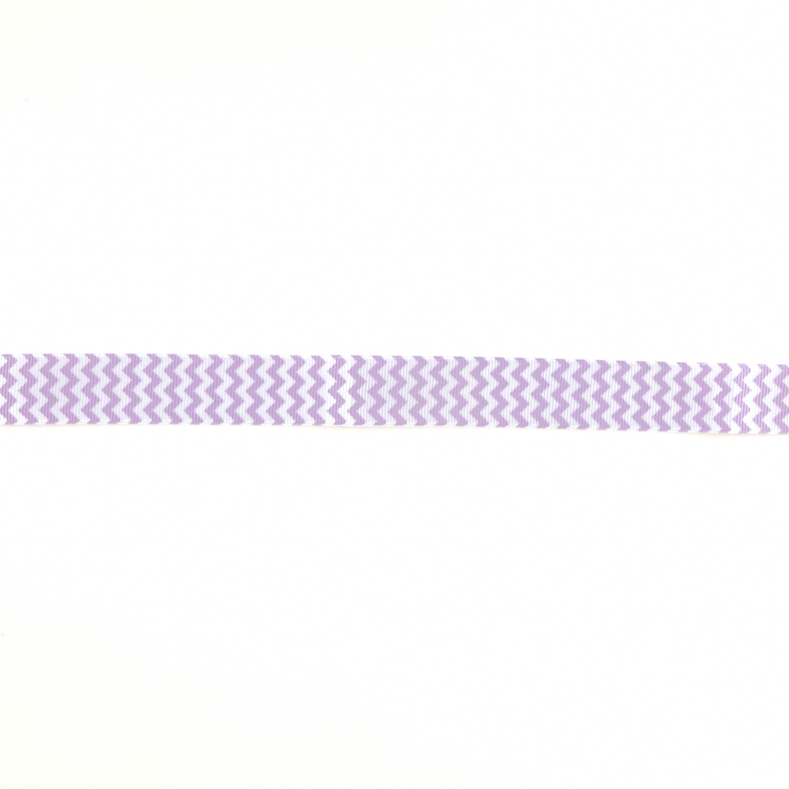 Riley Blake 7/8'' Grosgrain Ribbon Chevron Lavender