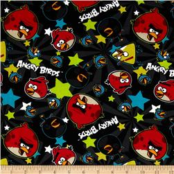 Angry Birds Stars Black Fabric