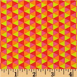 Michael Miller Happy Tones Polygon Sorbet Fabric