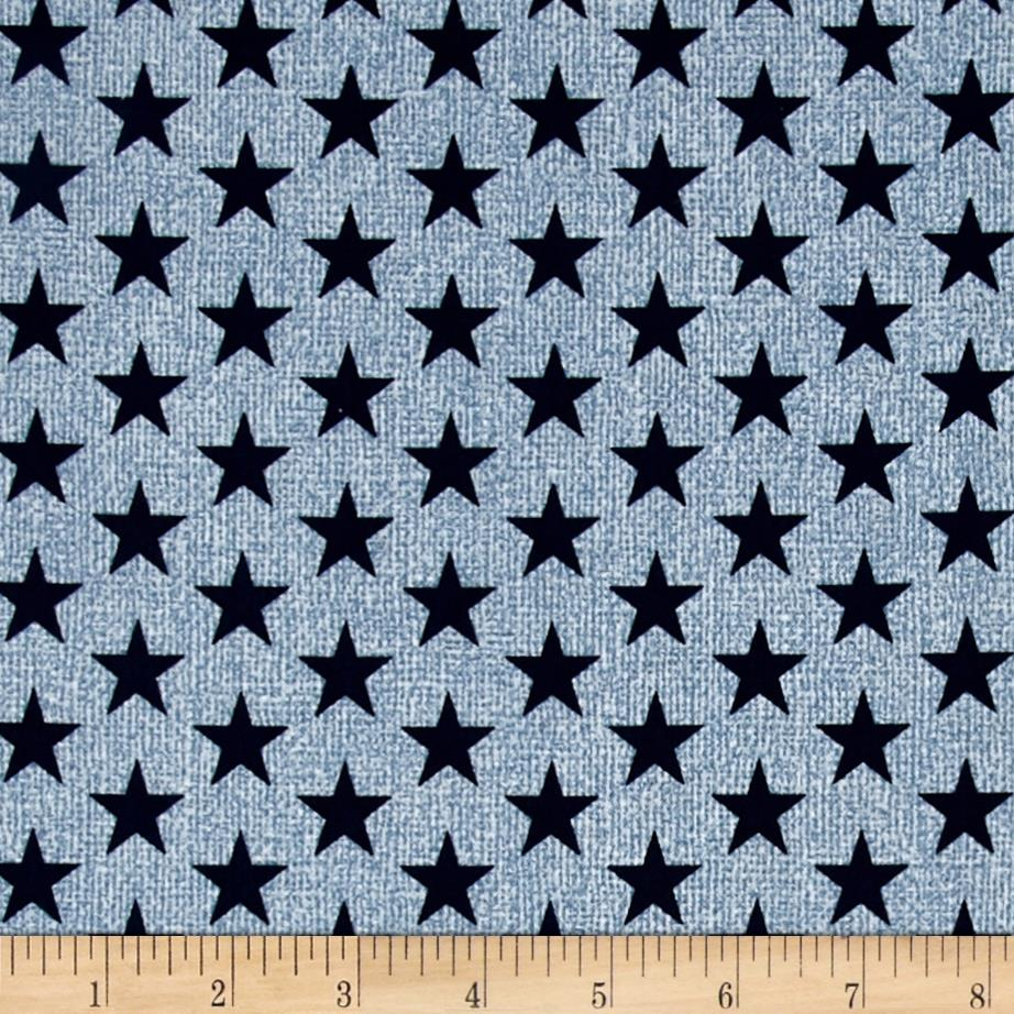Oh My Stars American Classic Medium Stars Light Blue/Navy