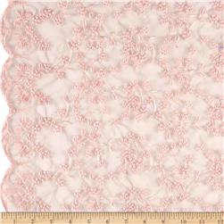 Telio Daisy Embroidery Pink