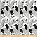 Vicki Payne Home Decor Sateen Birds And Berries Black