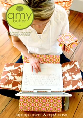 Amy Butler Laptop Cover & MP3 Case Pattern