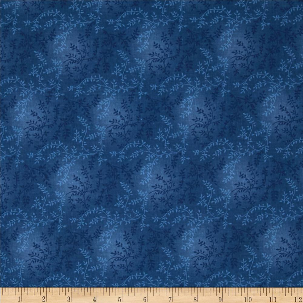 "108"" Wide Quilt Back Tonal Vineyard Blue"