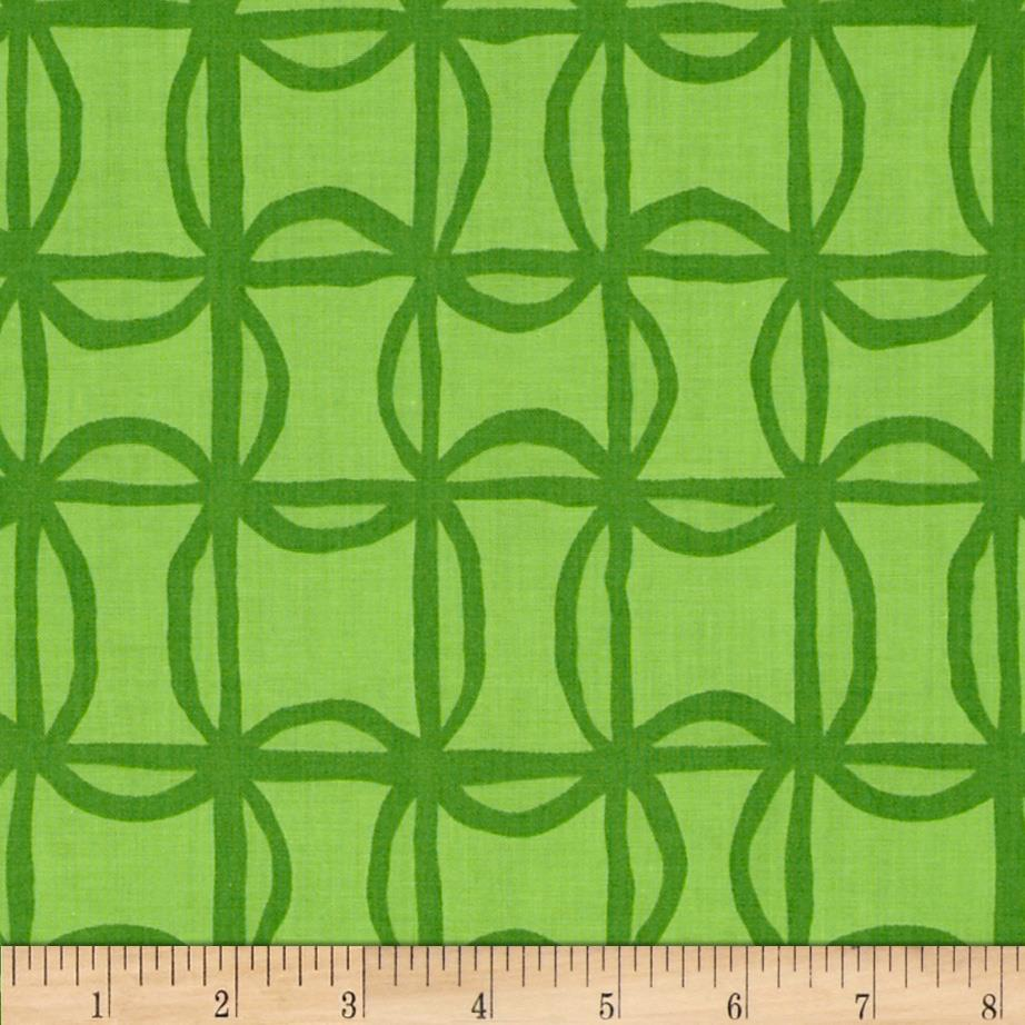 Kanvas Lilified Pin Wheel Green/Dark Green