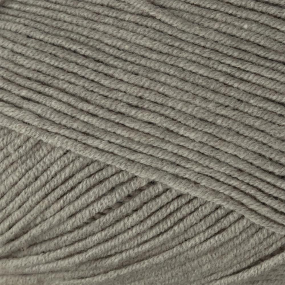 Bernat Cotton-ish by Vickie Howell Yarn (85044) Grey T-Shirt
