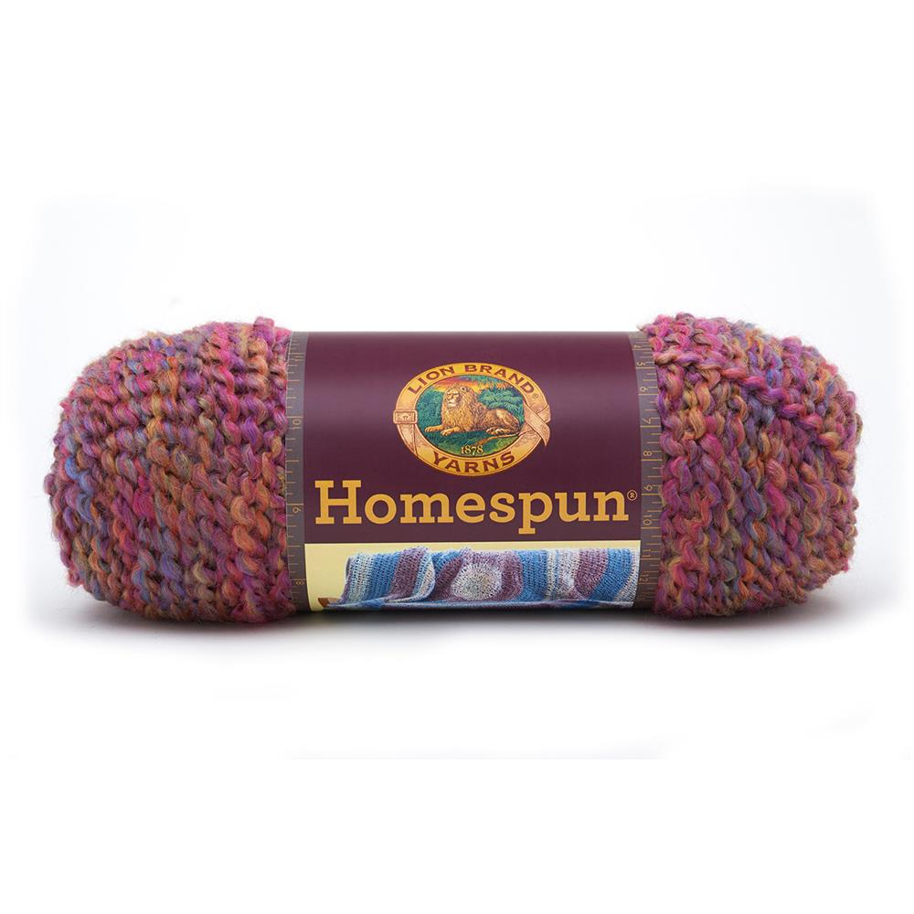 Lion Brand Homespun Yarn (422) Wisteria