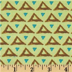 Temple Pyramids Topaz Fabric