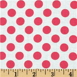Michael Miller Ta Dot Lipstick Fabric
