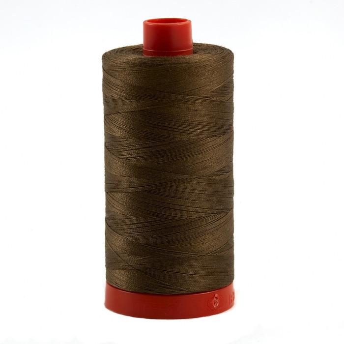 Aurifil Quilting Thread 50wt Dark Sandstone