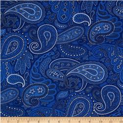 American Dream Paisley Navy