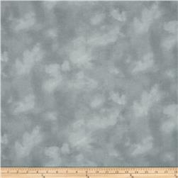 108'' Wide Flannel Mottled Light Grey