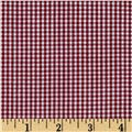 "Richcheck 60"" Gingham Check 1/16"" Berry"