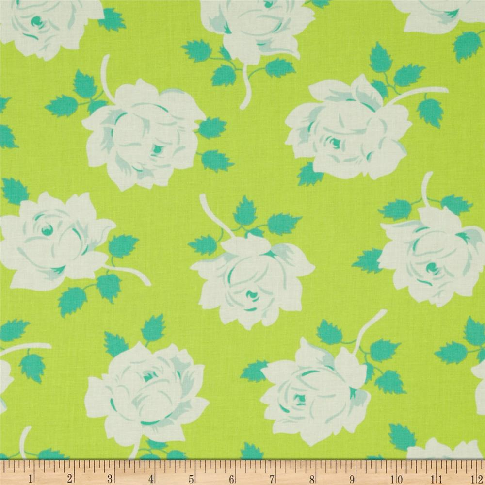 Heather Bailey Lottie Da Vintage Rose Lime