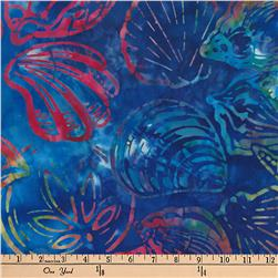 Kaufman Artisan Batiks Totally Tropical Shells Multi
