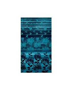 Nature Studies Border Print Teal