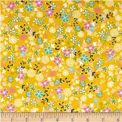 Riley Blake Daisy Days Secret Garden Yellow