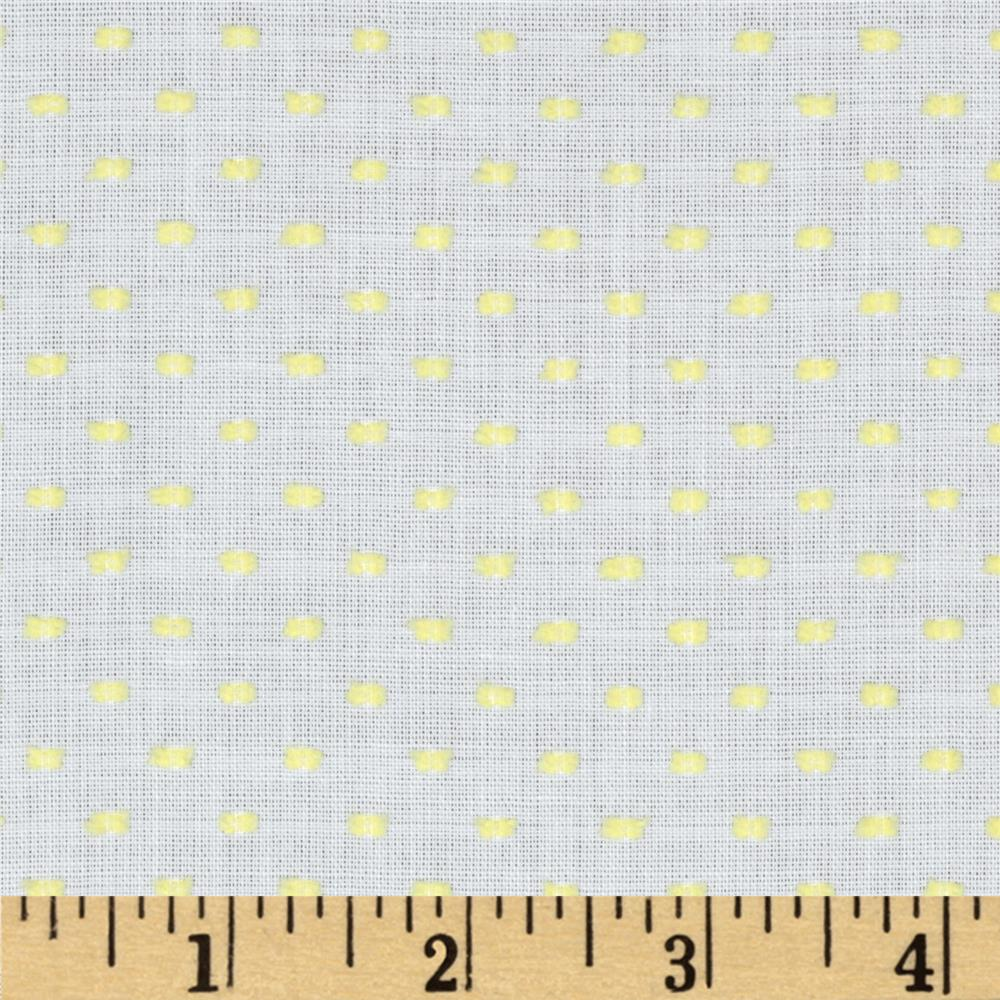 Imperial Old Fashioned Dotted Swiss Maize