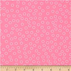 Kaufman Remix Bubble Dot Pink