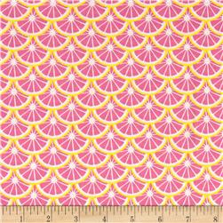 Camelot Pink Lemonade Lemon Slices Multi