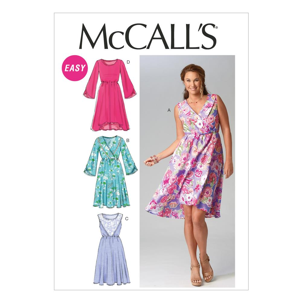 McCall's Misses' Dresses Pattern M6889 Size A50