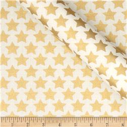 Jackie Heavy Metal Collection Stars Metallic Gold
