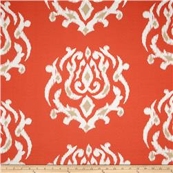 Terrasol Indoor/Outdoor Pamilla Ikat Coral Fabric