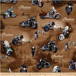 Open Road Motorcycle Scenic Brown
