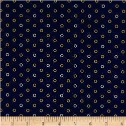 Carolina Blues Dots Navy