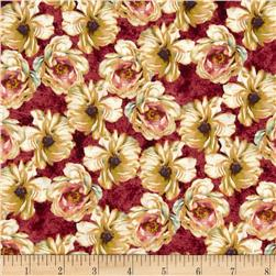 Marche de Fleurs Packed Floral Red/Cream