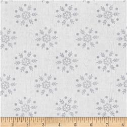 Winter Lodge Snowflake Gray