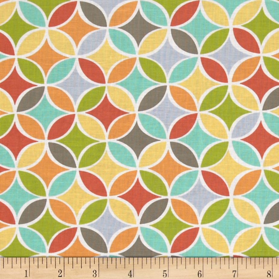 Michael Miller Tile Pile Multi Fabric