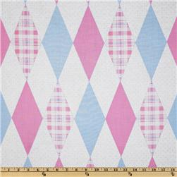 Baby Business Argyle Pink/Blue