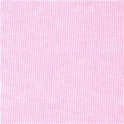 Basic Cotton Blend Rib Knit Bubble Gum