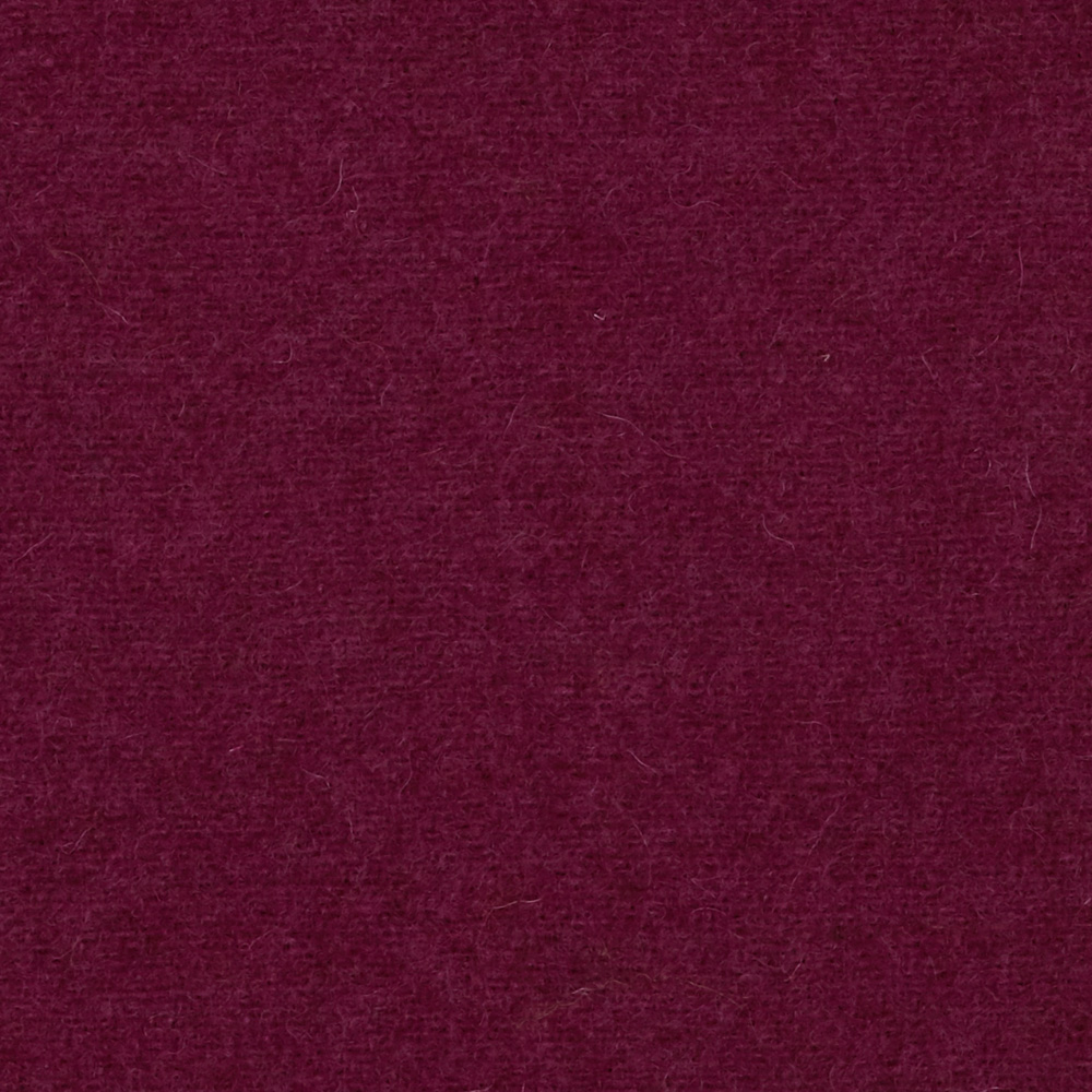 The Seasons Melton Wool Collection Magenta Fabric by Marcus in USA