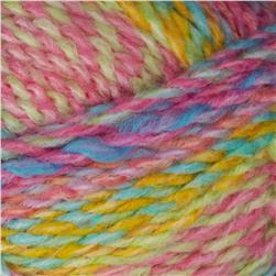Lion Brand Tweed Stripes Yarn (219) Fruity