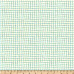 Riley Blake Trendsetter Houndstooth Mint Fabric