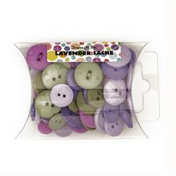 Dress It Up Color Me Collection Pillow Pack Buttons Lavendar Sache