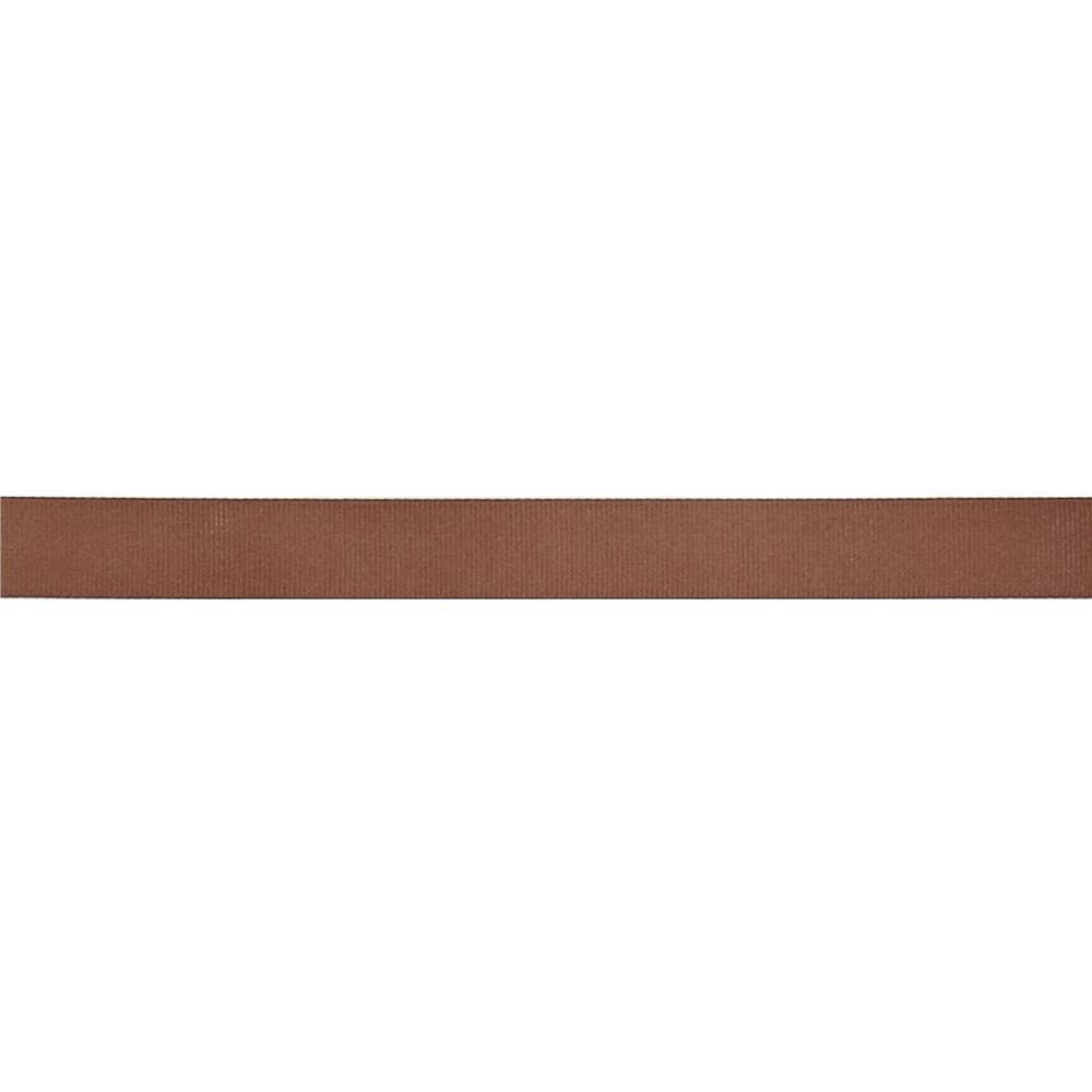 "May Arts 3/4"" Grosgrain Ribbon Spool Brown"