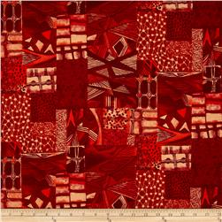 Jakarta Abstract Red