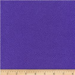 Timeless Treasures Dream Dots Purple