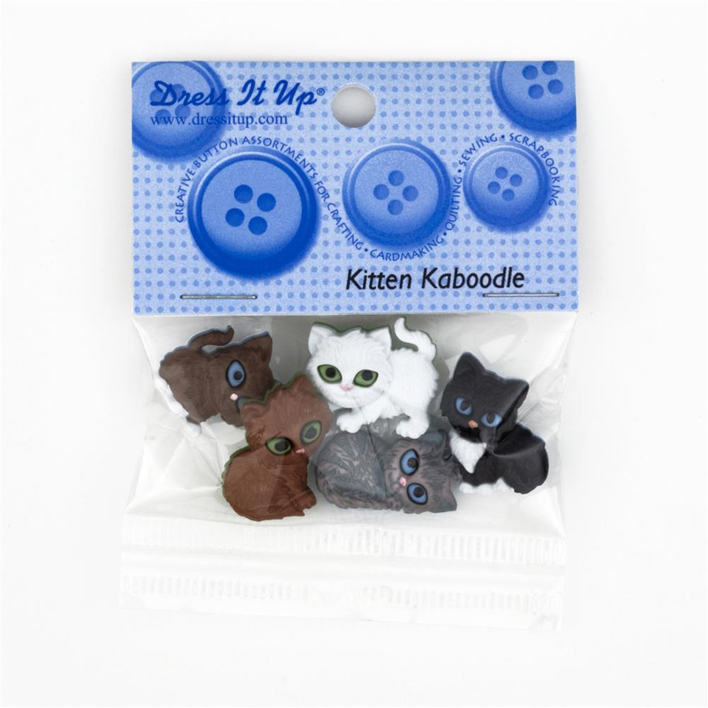Dress It Up Embellishment Buttons  Kit N Kaboodle