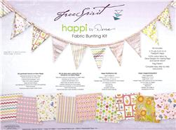 Happi Girl Fabric Bunting Kit